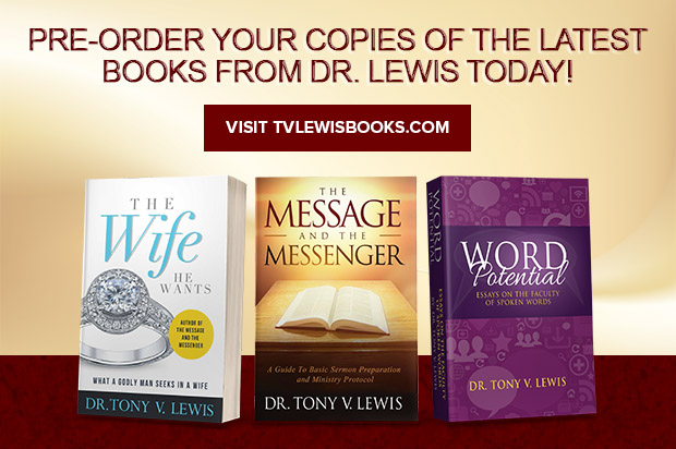 Dr. Tony V. Lewis Books